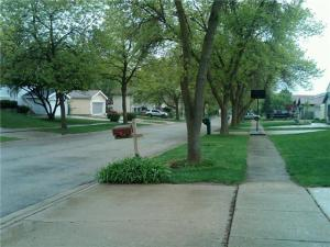 View on my block in Bolingbrook, IL ::  Saying goodbye soon.