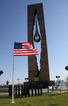 Bayoone Tear (A gift from Russia to the USA to commemorate those who died on 9//11/2001)