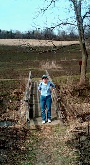 Steph at Arboretum 2