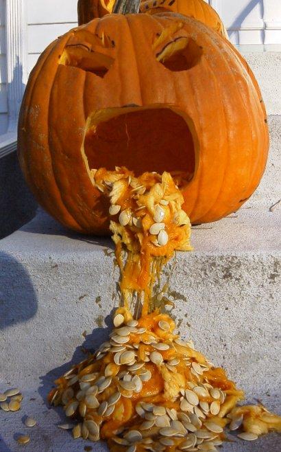 Pumpkin Puke