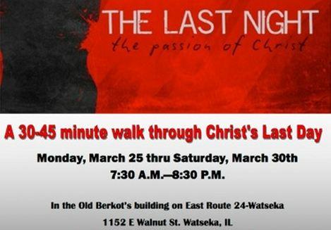 The Last Night info