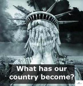 A similar national image for every country in the world would be appropriate for all the wickedness and violence we see around the world.