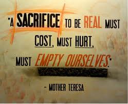 Sacrifice (Mother Teresa)