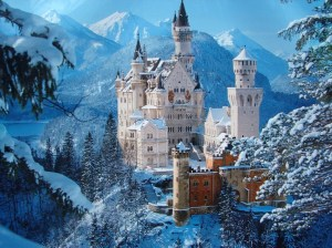 Neuschwanstein Castle-Bavaria  (not far from my ancestral home in Germany)
