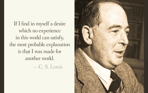 CS Lewis on Joy