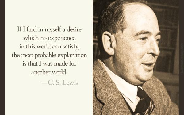 CS Lewis on Joy