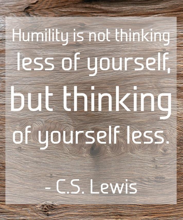 CS Lewis on Humility