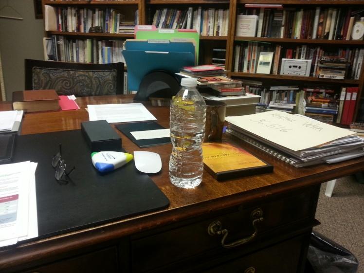 Amazing, but my desk looks relatively organized!