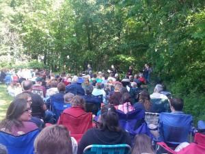 Worship on Pentecost 2014