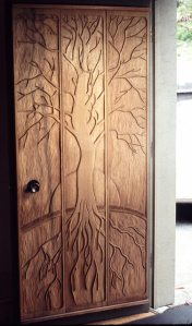 Anybody want to carve this door for my house?