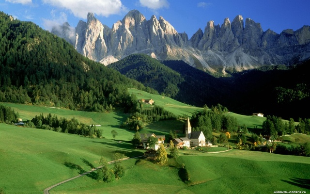 Alpine Mountains and Meadows