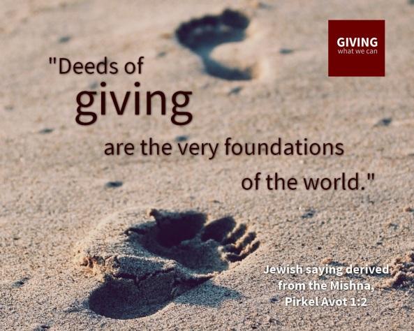 Deeds of Giving