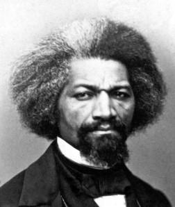 Frederick Douglass (1818-1895) This picture was taken around 1863.