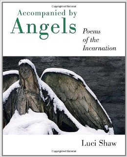 Accompanied by Angels: Poems of the Incarnation (book cover)