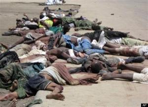 Baga Victims of Boco Haram