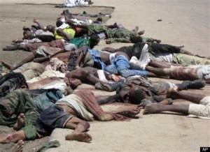 Baga Victims of Boco Haram