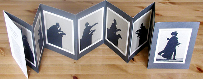 Silhouettes of Charles Simeon by Edouart
