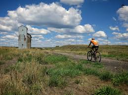 Biking backroads