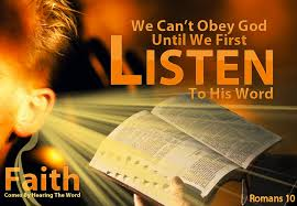 Obeying the Word of God