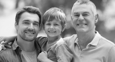 Three Generations of men 2
