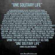 One Solitary Life 2