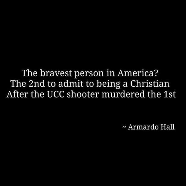 The Bravest Person in America