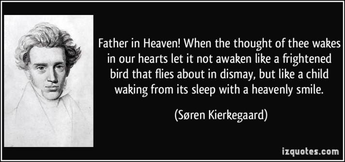 Kierkegaard on Waking in Heaven