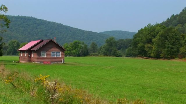 Green Fields in Allegheny Mountains