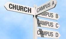 Multi-site Church Venue Sign