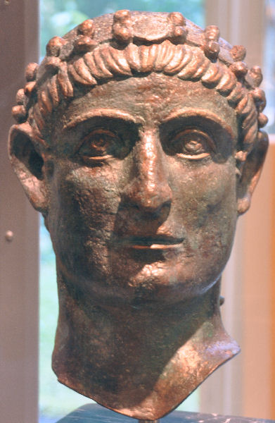 Constantine Bust from Nish (Germany)