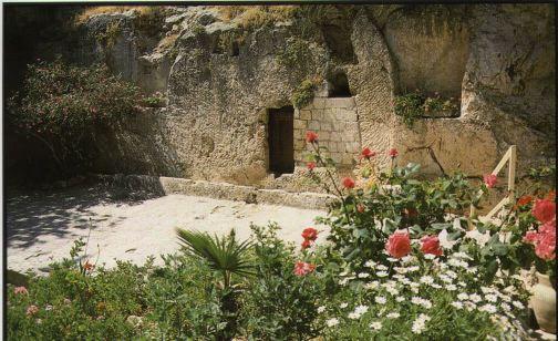 Garden Tomb Near Golgotha