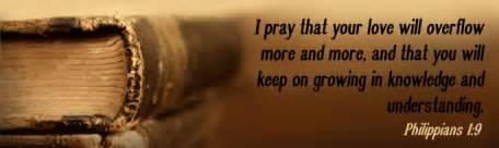 Bible quote Philippians 1(9)