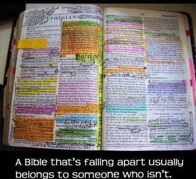 Worn Bible 3