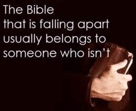 Worn Bible 4