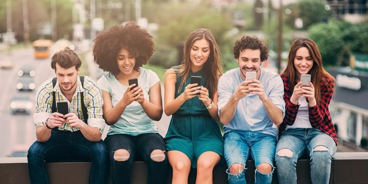 Millennial smart Phones