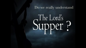 Lord's Supper 1
