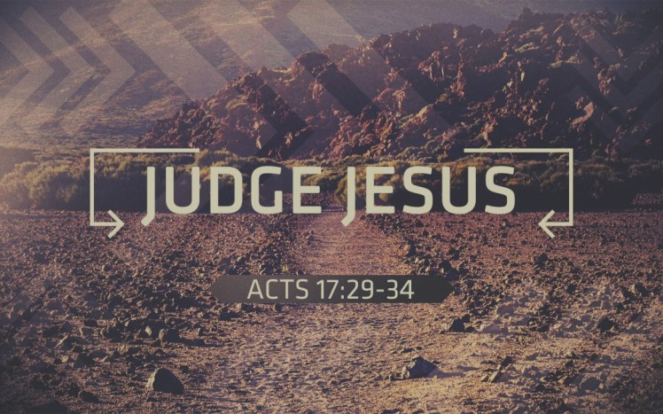 Jesus is Judge 2