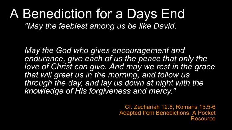 Benediction 6