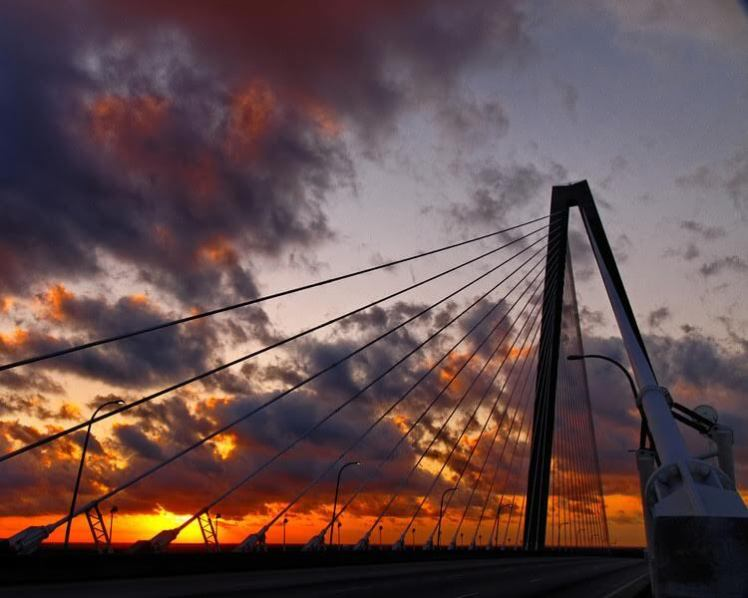 Sunrise in Charleston