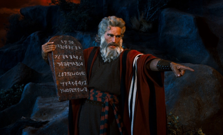 Ten-Commandments (Charlton Heston)