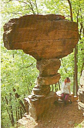 Ticklish Rock Near Deer Lake Pennsylvania