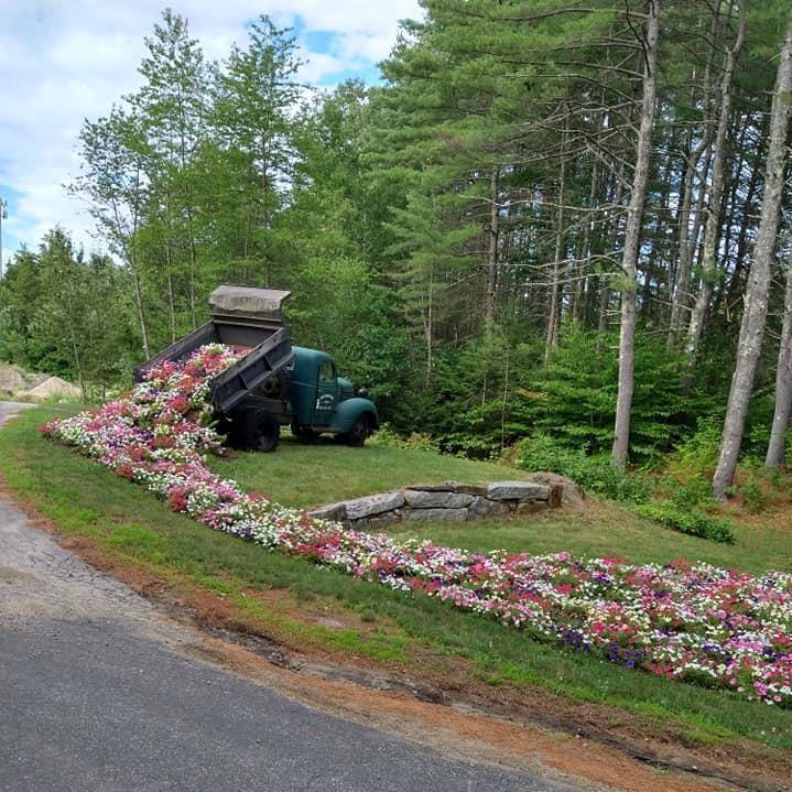 Flower Dump Truck